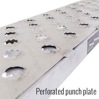 Serrated rung surface