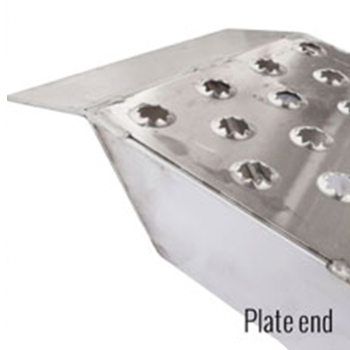 Plate ends